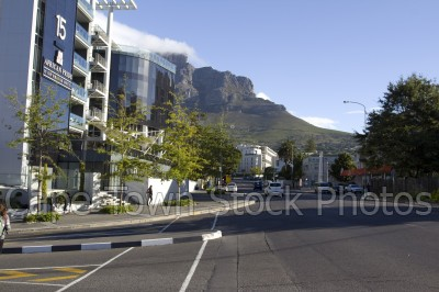 city,table mountain,orange street