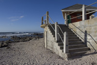 Concrete stairs at Sea Point beach [1303294832]