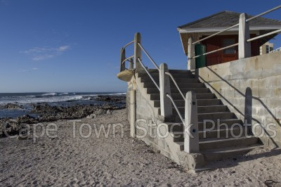 sea,beach,stairs,sea point