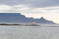 Table Mountain and Lion's Head at dusk from Big Bay [1303313856]