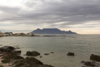 Table Mountain at dusk from Big Bay [1303314837]