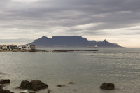 Table Mountain at dusk from Big Bay [1303314838]
