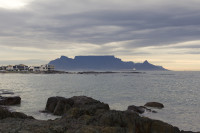 Table Mountain at dusk from Big Bay [1303314849]