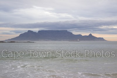 sea,beach,table mountain,big bay,table view
