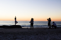 Sunset photoshoot at Clifton 4th beach [1304045063]