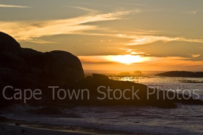 sea,sunset,clifton,rocks
