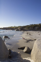 Blue skies at Camps Bay beach [1304125313]