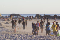 People on Camps Bay beach [1304125370]