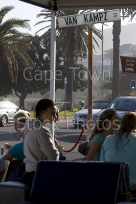 camps bay,road signs