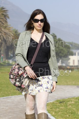 woman,camps bay