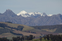 Snow on the Boland Mountain Range [1309227244]