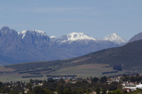 Snow on the Boland Mountain Range [1309227245]