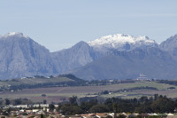 Snow on the Boland Mountain Range [1309227247]