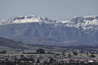 Snow on the Boland Mountain Range [1309227255]