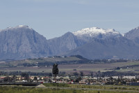 Snow on the Boland Mountain Range [1309227260]