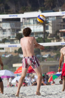 Volleyball on Camps Bay beach [1310277915]