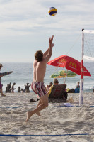 Volleyball on Camps Bay beach [1310277917]