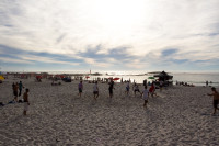Late afternoon on Camps Bay beach [1310277919]