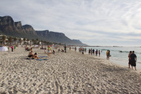 People on Camps Bay beach [1310277945]