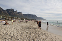 People on Camps Bay beach [1310277946]