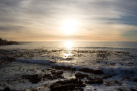 Sunset at Three Anchor Bay in Sea Point [1311018324]