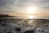 Sunset at Three Anchor Bay in Sea Point [1311018325]
