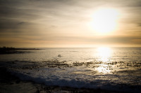 Sunset at Three Anchor Bay in Sea Point [1311018326]