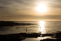 Sunset at Three Anchor Bay in Sea Point [1311018334]