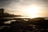 Sunset at Three Anchor Bay in Sea Point [1311018339]