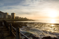 Sunset at Three Anchor Bay in Sea Point [1311018358]