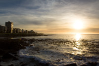 Sunset at Three Anchor Bay in Sea Point [1311018362]