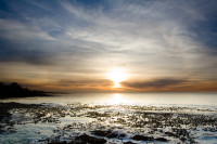 Sunset at Three Anchor Bay in Sea Point [1311018394]