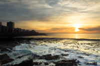 Sunset at Three Anchor Bay in Sea Point [1311018402]