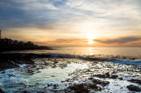 Sunset at Three Anchor Bay in Sea Point [1311018403]