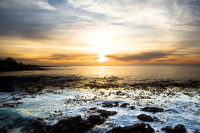 Sunset at Three Anchor Bay in Sea Point [1311018404]