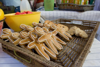 Gingerbread men at Neighbourgoods Market [1312079248]
