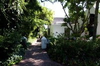 Garden path at Zevenwacht Wine Estate [1401029796]