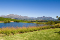 Stellenbosch and Boland Mountains from Asara [1401029804]