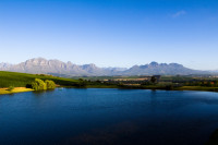 Stellenbosch and Boland Mountains from Asara [1401029842]
