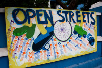 Open Streets sign in Observatory [1401080099]