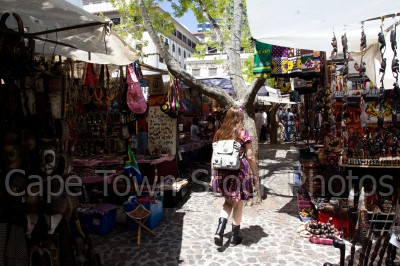 people,woman,market,curios,green market square