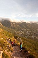 Walking up Lion's Head in the early evening [1401170223]