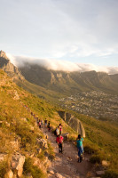 Walking up Lion's Head in the early evening [1401170224]