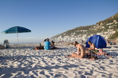 beach,people,umbrella,clifton,girls,women