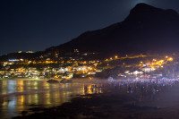 Moon rising over Lion's Head [1402150487]