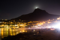 Moon rising over Lion's Head [1402150491]