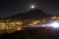 Moon rising over Lion's Head [1402150493]