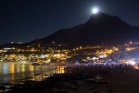 Moon rising over Lion's Head [1402150495]