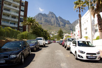 Table Mountain from The Fairway Road in Camps Bay [1403160700]
