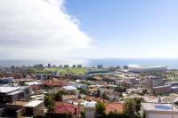 View of Cape Town Stadium from Signal Hill [1403290894]